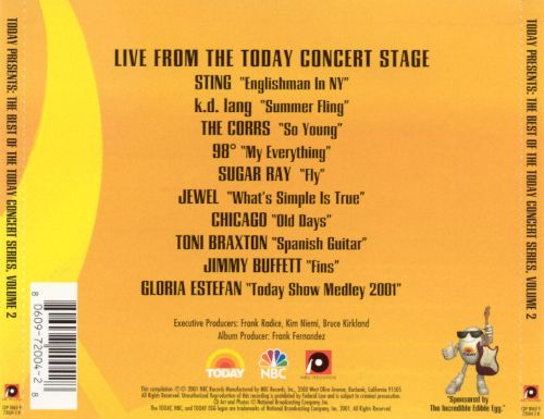 Today Presents: The Best of the Today Concert Series, Vol. 2