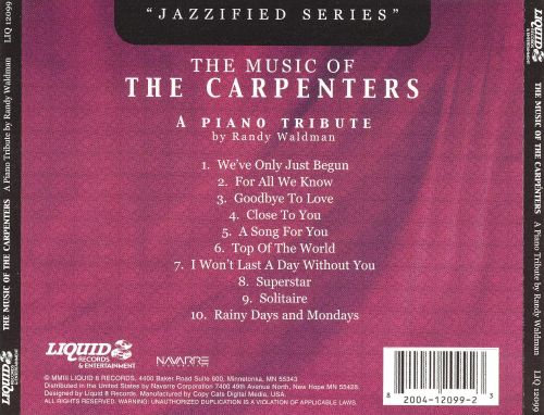 Music of the Carpenters