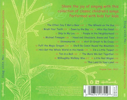 Sing with Me: A Children's Sing-Along Collection
