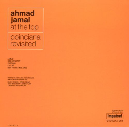 Ahmad Jamal at the Top: Poinciana Revisited