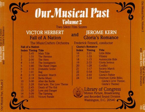 Our Musical Past, Vol. 2: Fall Of A Nation/Gloria's Romance