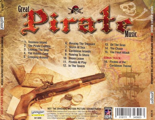 Great Pirate Music: Music Inspired By Pirates of the Caribbean