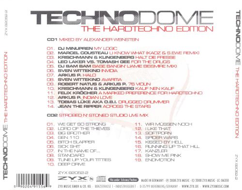 Techno Dome: Hardtechno Edition