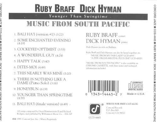 Music from South Pacific