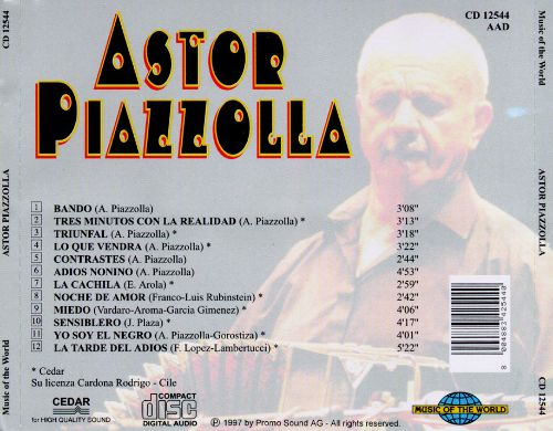 Astor Piazzolla [Music of the World]