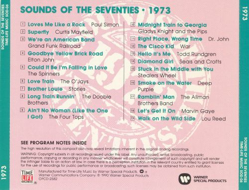 Sounds of the Seventies: 1973