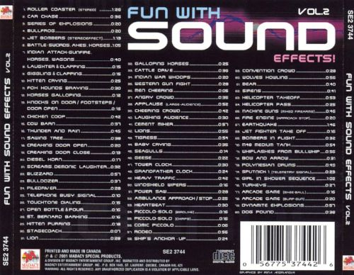 Fun With Sound Effects, Vol. 2 [2001]
