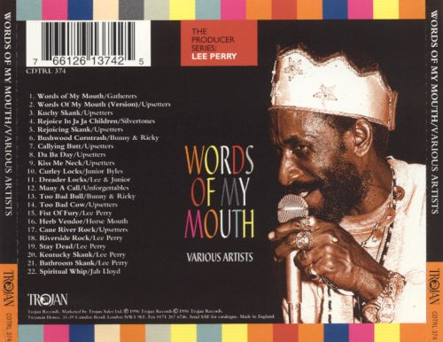 "Words Of My Mouth - Lee ""Scratch"" Perry"