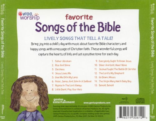 Wee Worship: Favorite Songs of the Bible - Lively Songs that Tell a Tale