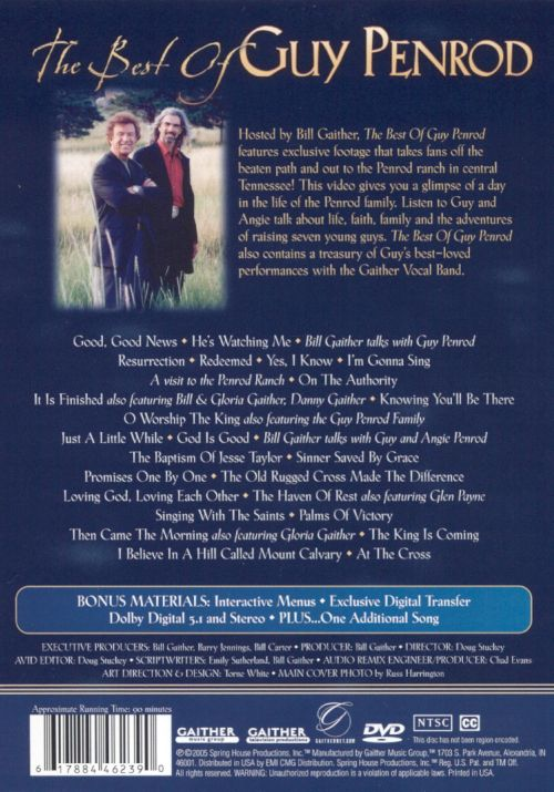 The Best of Guy Penrod [DVD]