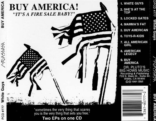 White Guys/Buy America