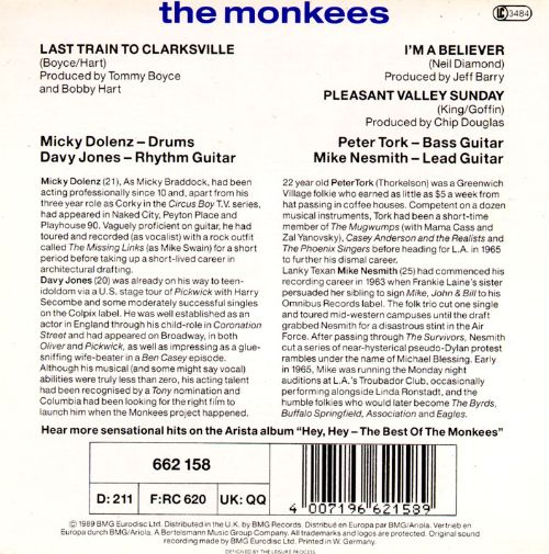 The Monkees [Single]