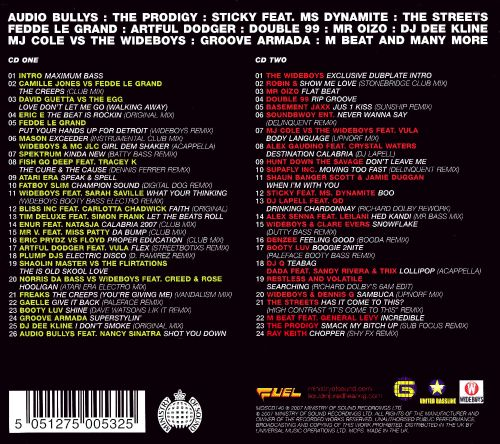 Ministry of Sound: Maximum Bass 2007