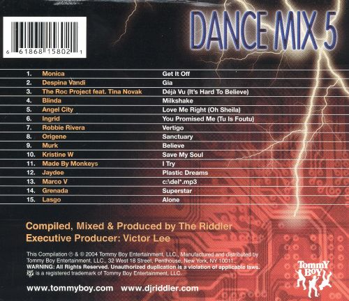 Dance Mix NYC, Vol. 5