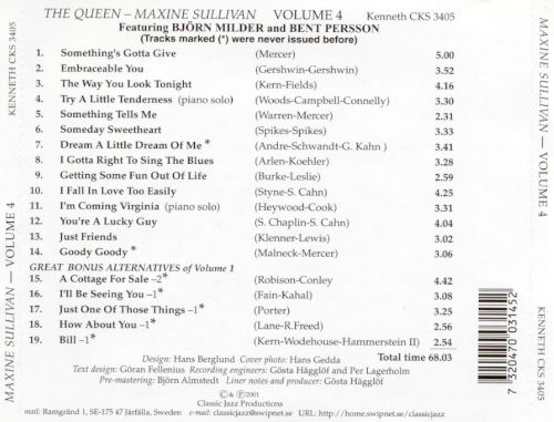 Queen, Vol. 4: Dream a Little Dream of Me