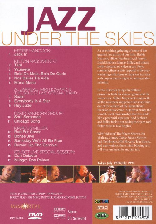Jazz Live Under the Skies