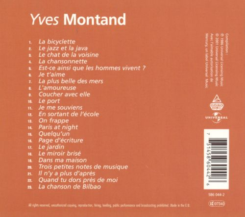 Yves Montand [Universal]