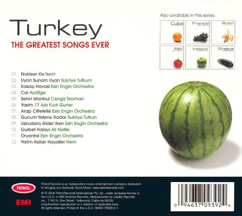 The Greatest Songs Ever: Turkey