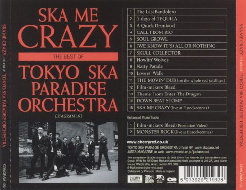 Ska Me Crazy: The Best of Tokyo Ska Paradise Orchestra