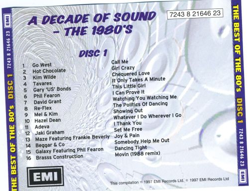 The Best of the 80's [EMI 1997]