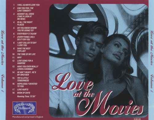 Love at the Movies, Vol. 1