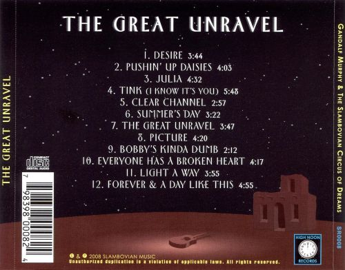 The Great Unravel