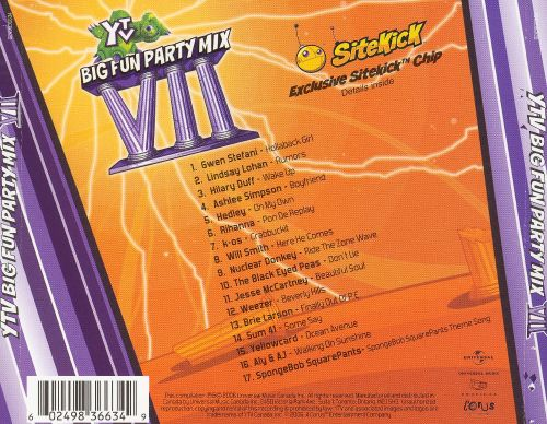 YTV Big Fun Party Mix, Vol. 7