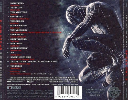 Spider-Man 3 [Music From and Inspired By]