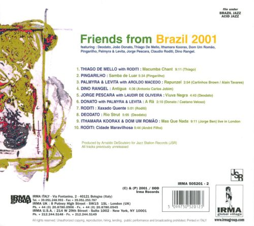Friends from Brazil 2001