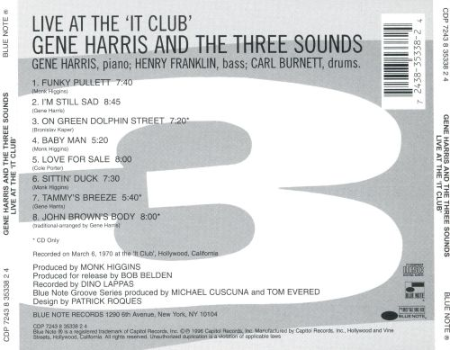 Live at the 'It Club'