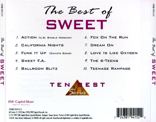 The  Best of Sweet [Cema]