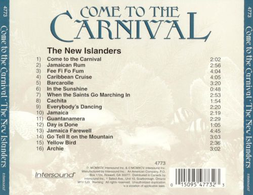 Come to the Carnival: The New Islanders