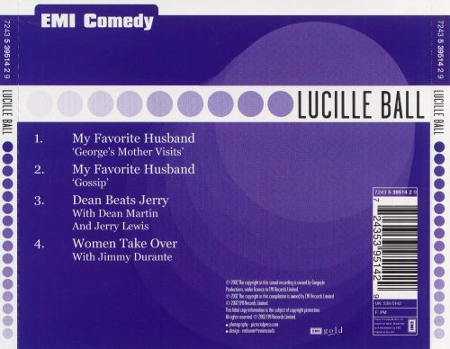 Live Recordings From Lucille Ball