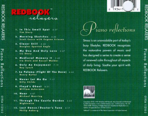 Redbook Relaxation: Piano Reflections
