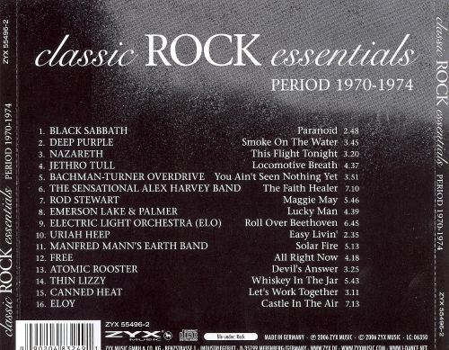 classic rock essentials period 1970 1974 various artists songs reviews credits allmusic. Black Bedroom Furniture Sets. Home Design Ideas