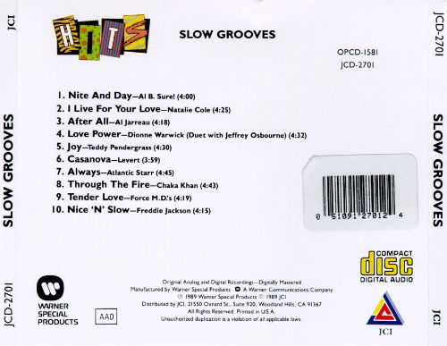 Slow Grooves
