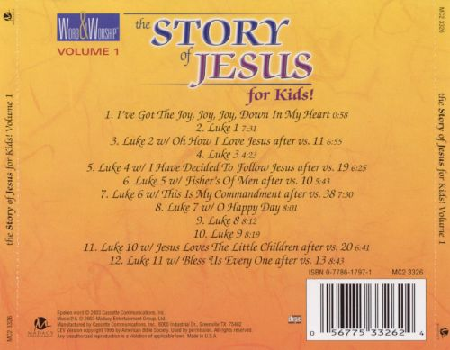 Story of Jesus for Kids, Vol. 1