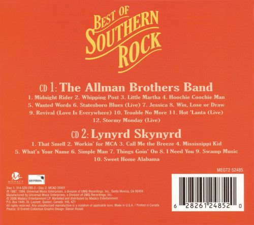 Best of Southern Rock [Madacy]