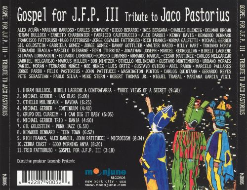 Gospel for J.F.P. III: Tribute To Jaco Pastorius