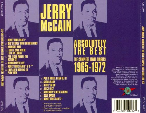 Absolutely the Best: Complete Jewel Singles 1965-1972