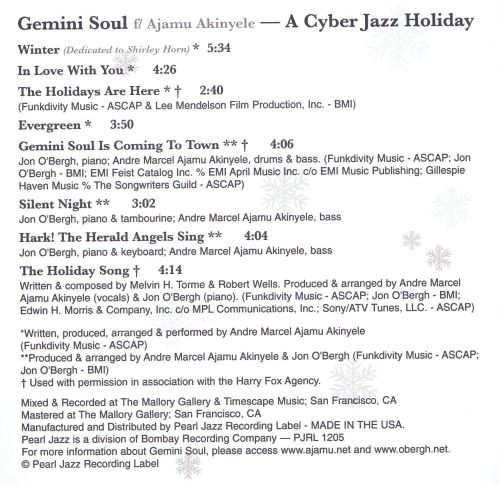 A Cyber Jazz Holiday