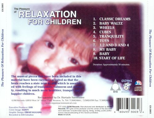 Pleasure of Relaxation for Children