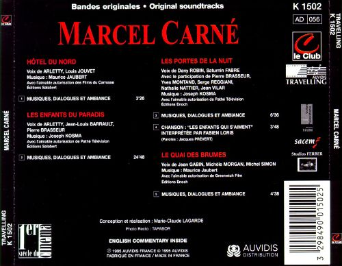 Movies to Listen To: Music of Marcel Carné