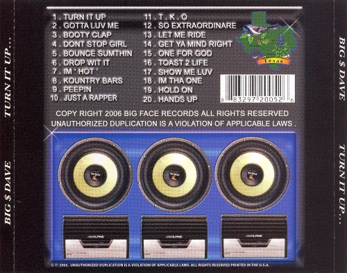 Turn It Up - Tha Album