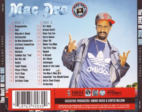 3 The Best Of Mac Dre, Vol. 3