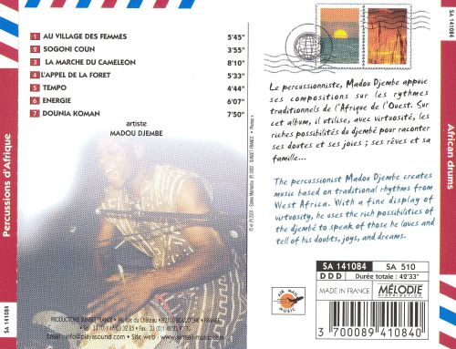 Air Mail Music: African Drums
