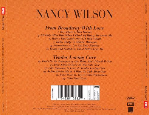 From Broadway with Love/Tender Loving Care