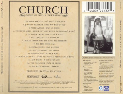 Church: Songs of Soul and Inspiration