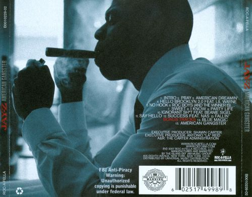10 years after its debut jay zs american gangster still tsl like reasonable doubt it gets better as time goes on thats a testament to not only jay z but all of the talented people who worked on this album malvernweather Image collections