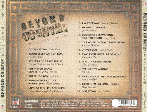 Beyond Country: The Best of Alt Country